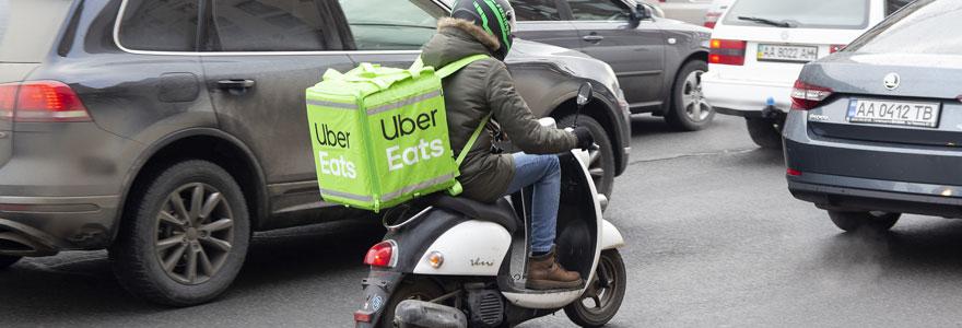 Devenir livreur Uber