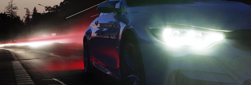 éclairage voiture