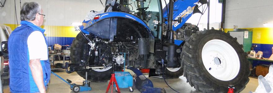 pompe à eau d'un tracteur agricole
